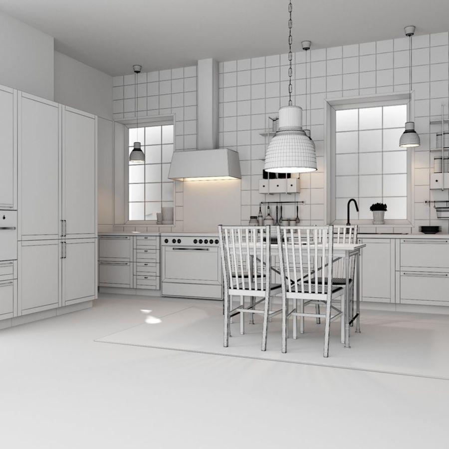 IKEA METOD kitchen torhamn ash 3D Model $19 - .unknown .max ...