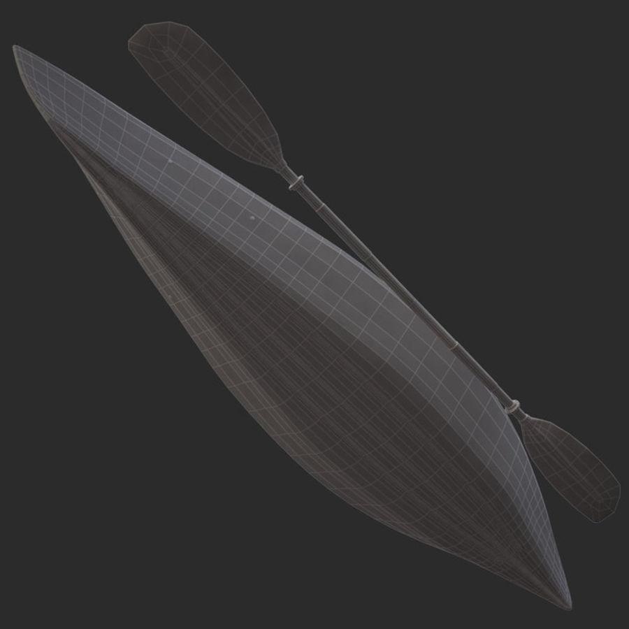 percepção de caiaque royalty-free 3d model - Preview no. 14