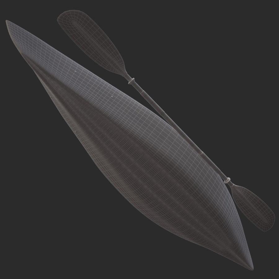 percepção de caiaque royalty-free 3d model - Preview no. 15