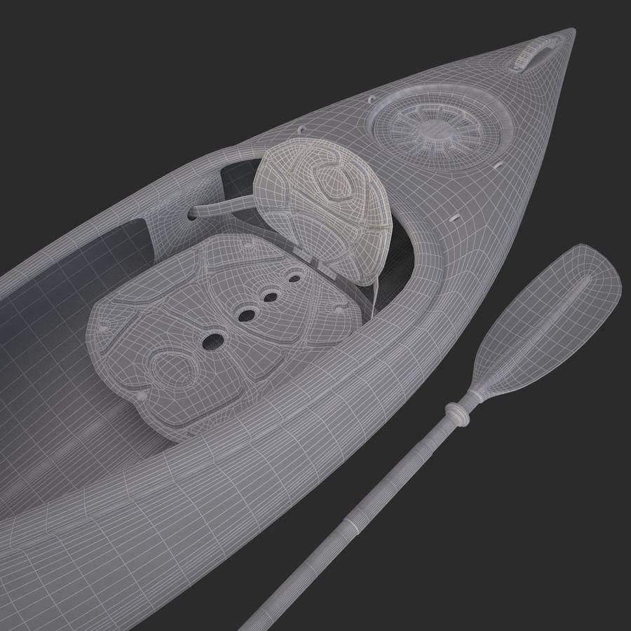 percepção de caiaque royalty-free 3d model - Preview no. 13
