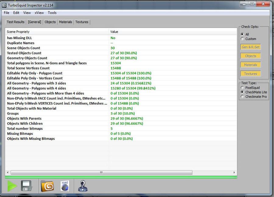 percepção de caiaque royalty-free 3d model - Preview no. 18