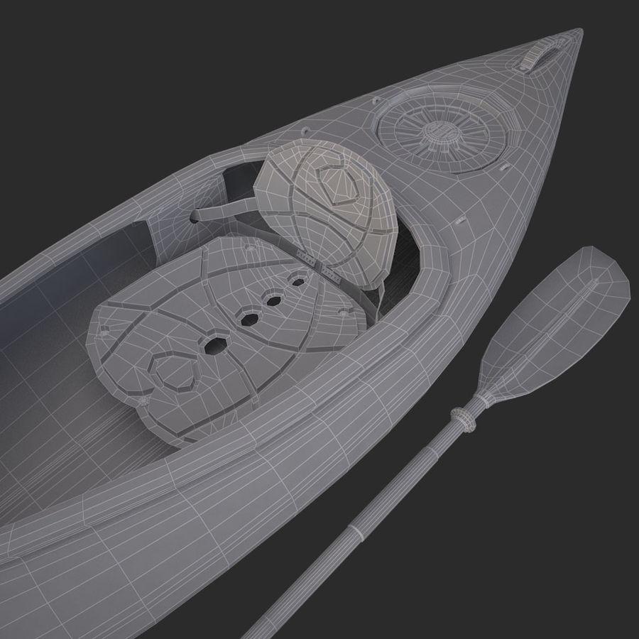 percepção de caiaque royalty-free 3d model - Preview no. 12