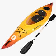 kayak percepción_v2 modelo 3d