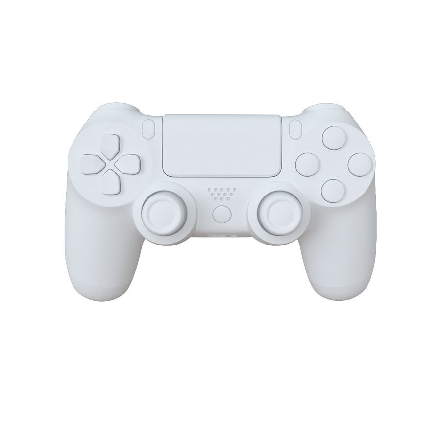 Dual Shock PS4 royalty-free 3d model - Preview no. 12