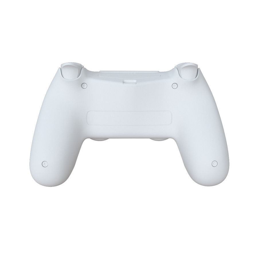 Dual Shock PS4 royalty-free 3d model - Preview no. 13