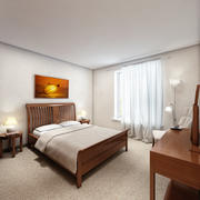 Scena w sypialni 1 3d model