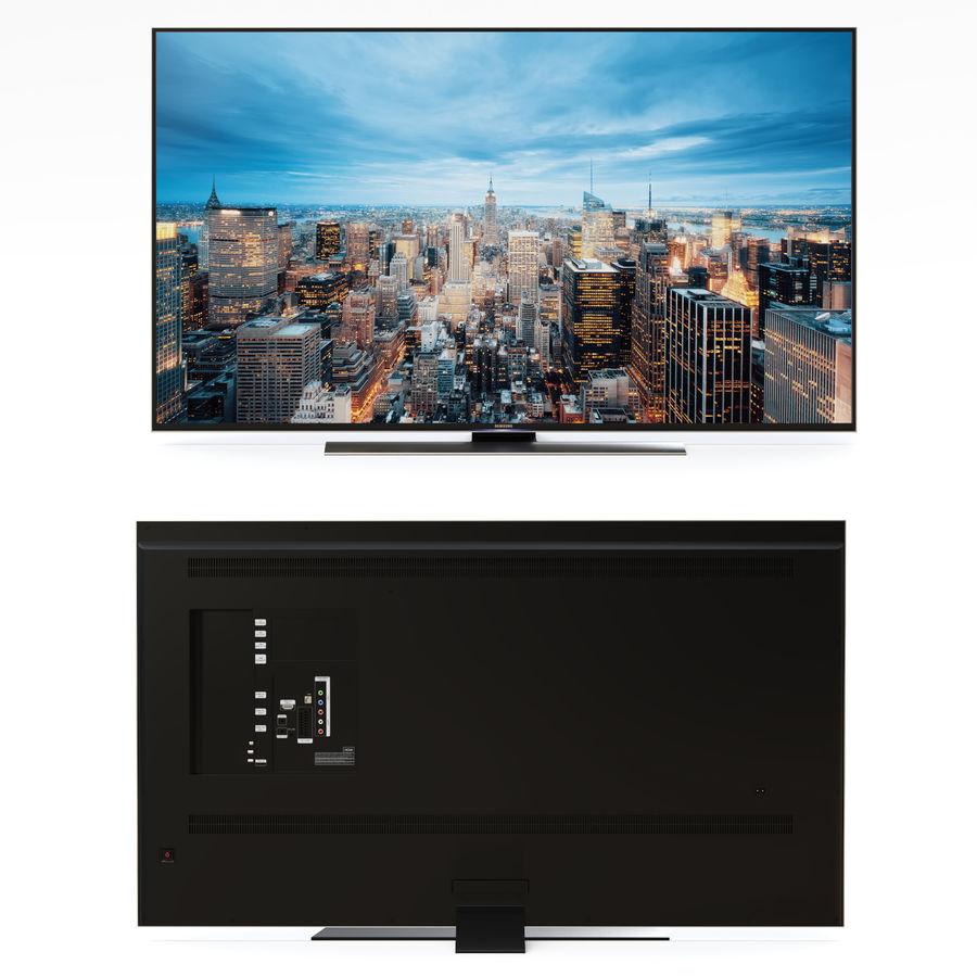 Samsung UHD 4K TV LED royalty-free 3d model - Preview no. 15