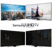 TV LED Samsung UHD 4K 3d model