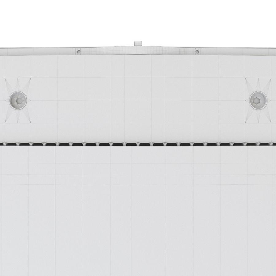 Samsung UHD 4K TV LED royalty-free 3d model - Preview no. 13