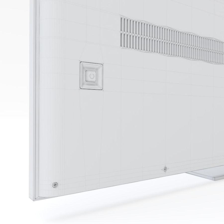 Samsung UHD 4K LED TV royalty-free 3d model - Preview no. 21