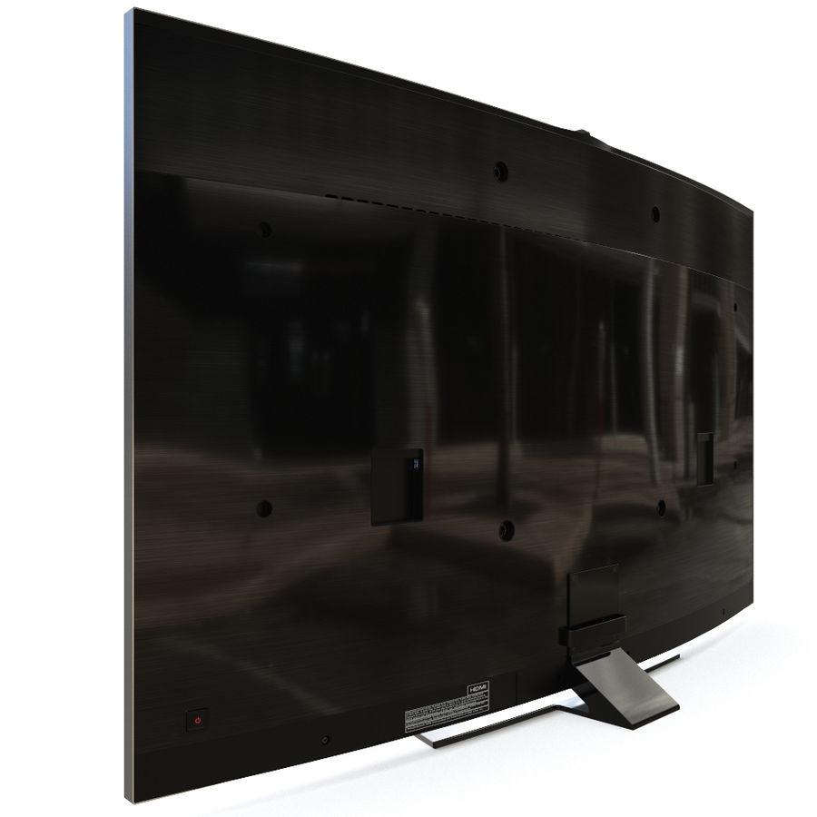 Samsung UHD 4K LED TV royalty-free 3d model - Preview no. 9