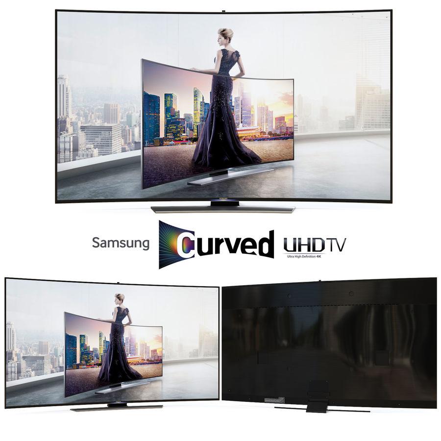 Samsung UHD 4K LED TV royalty-free 3d model - Preview no. 3