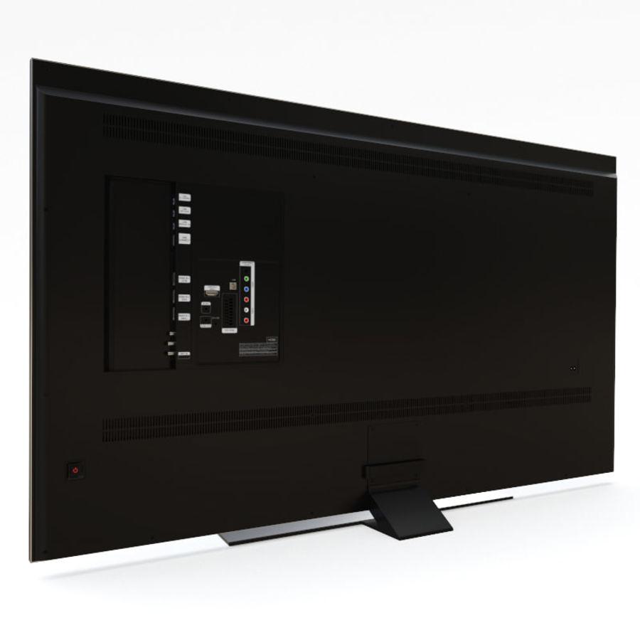 Samsung UHD 4K LED TV royalty-free 3d model - Preview no. 17