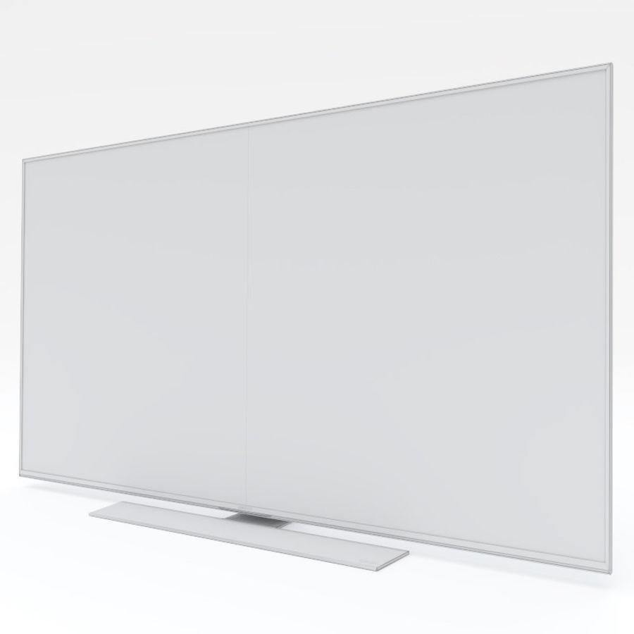 Samsung UHD 4K TV LED royalty-free 3d model - Preview no. 20