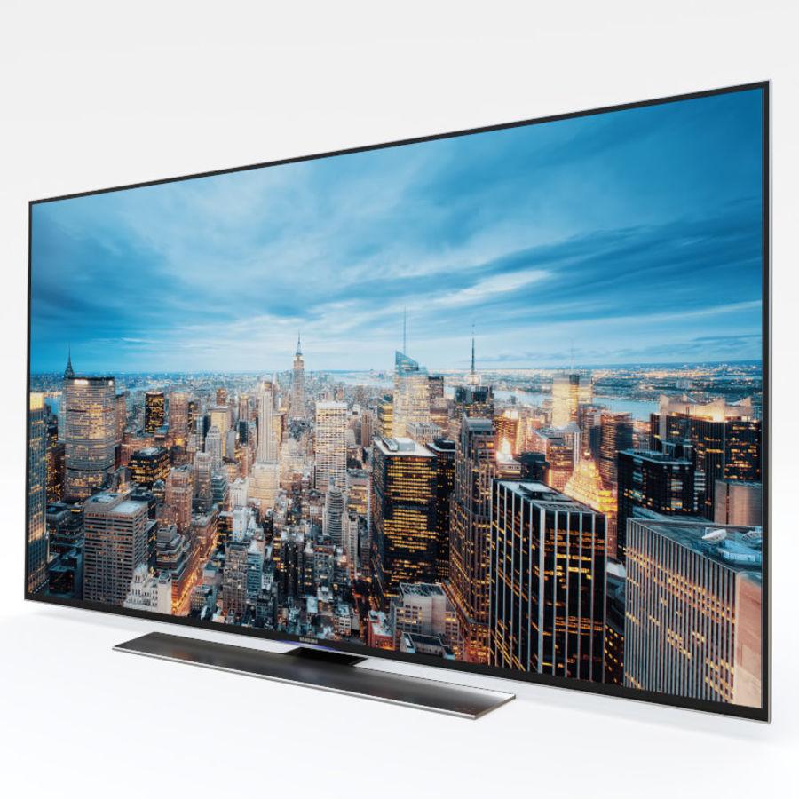 Samsung UHD 4K LED TV royalty-free 3d model - Preview no. 14