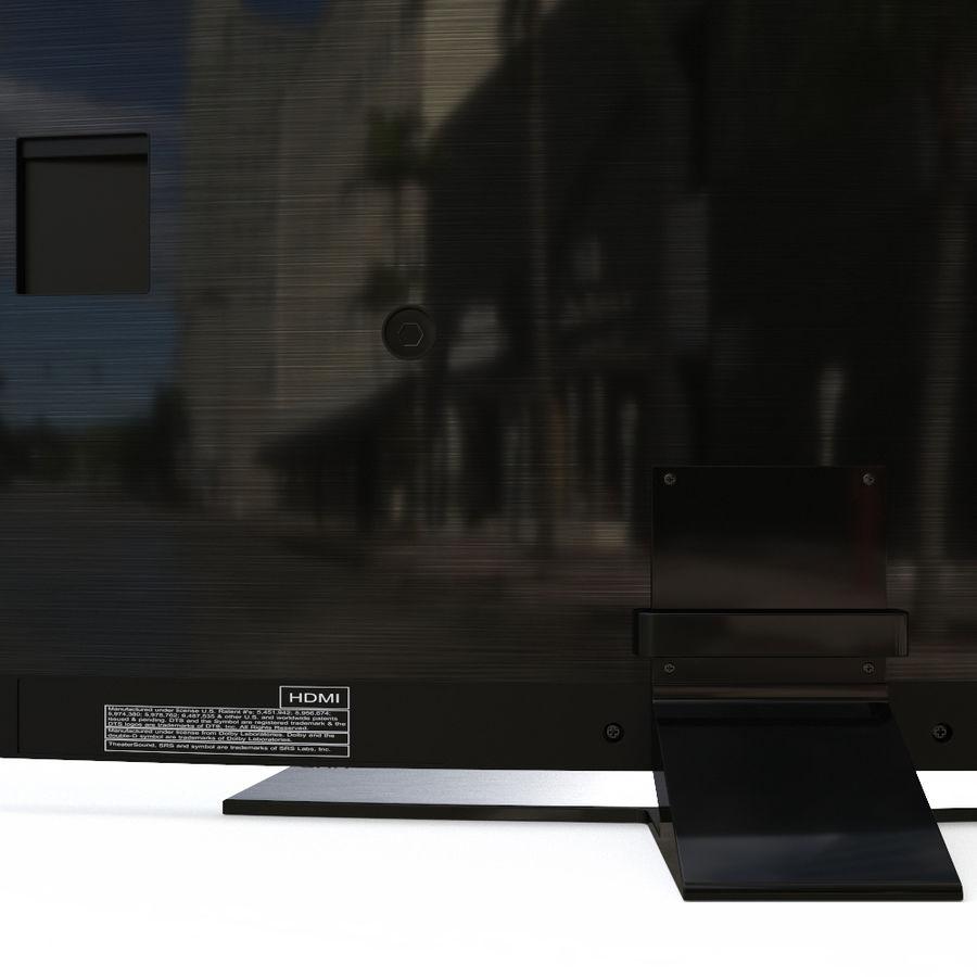 Samsung UHD 4K LED TV royalty-free 3d model - Preview no. 7