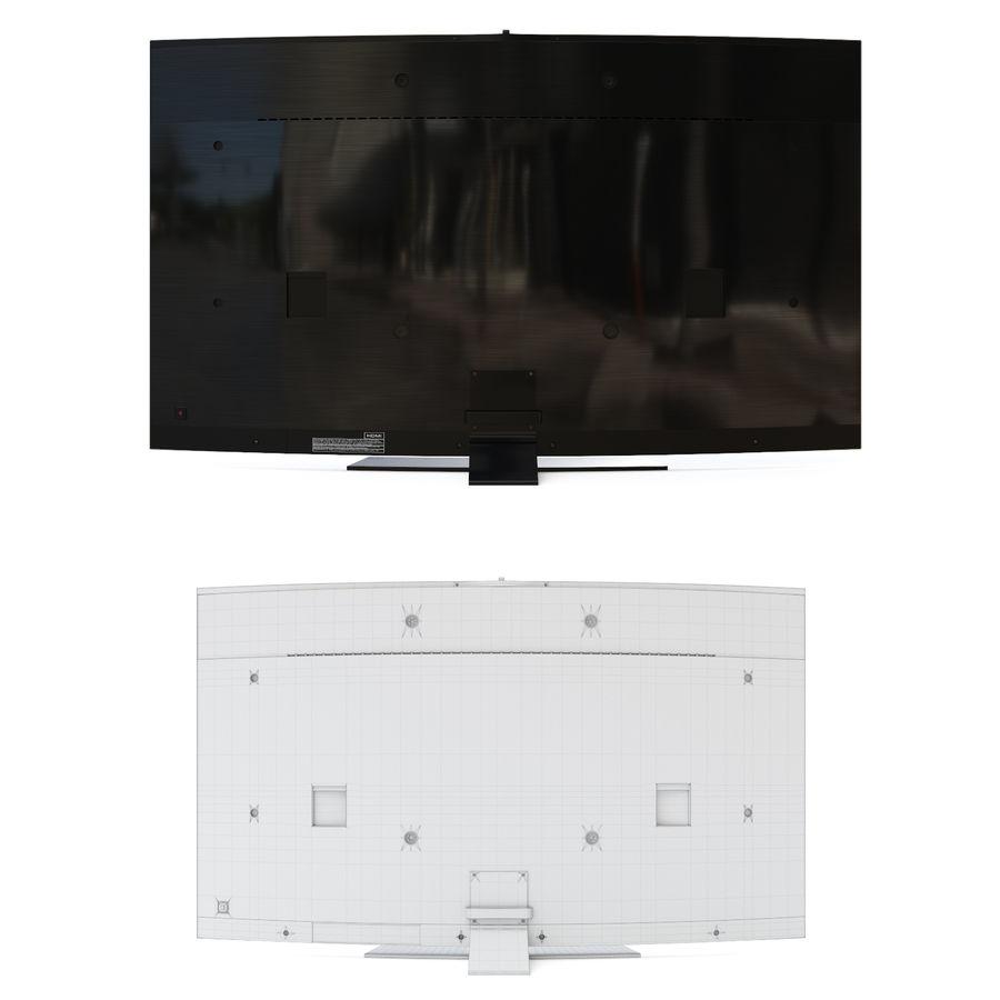 Samsung UHD 4K LED TV royalty-free 3d model - Preview no. 5