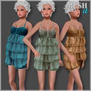 Yaz elbisesi 3d model