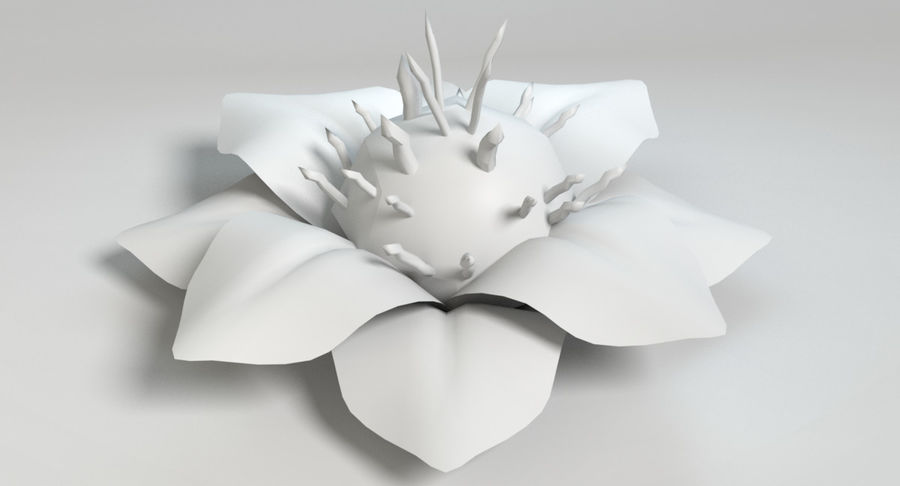 Zestaw roślin obcych royalty-free 3d model - Preview no. 41