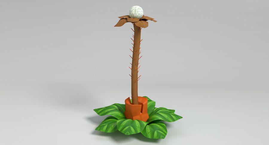 Zestaw roślin obcych royalty-free 3d model - Preview no. 31