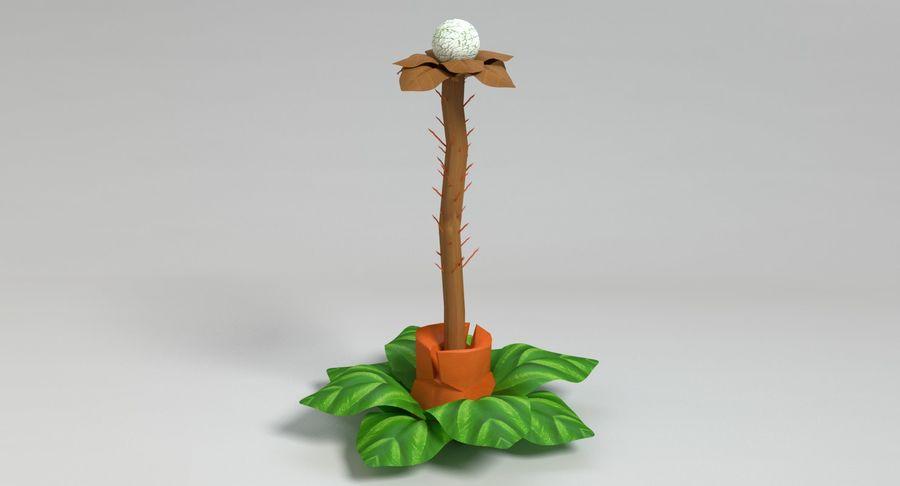 Zestaw roślin obcych royalty-free 3d model - Preview no. 30