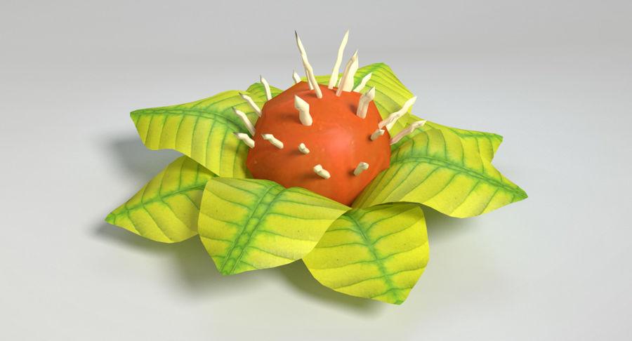 Zestaw roślin obcych royalty-free 3d model - Preview no. 37
