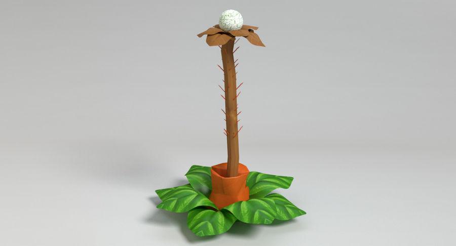 Zestaw roślin obcych royalty-free 3d model - Preview no. 29
