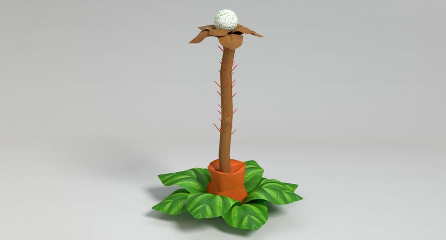 Zestaw roślin obcych royalty-free 3d model - Preview no. 32