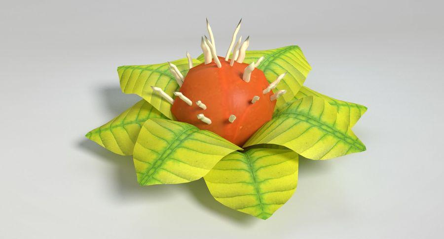 Zestaw roślin obcych royalty-free 3d model - Preview no. 38