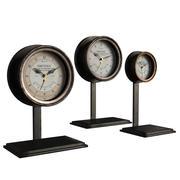 法国安培表时钟 3d model