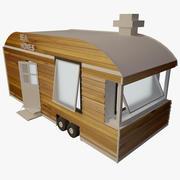 Casa minúscula 3d model