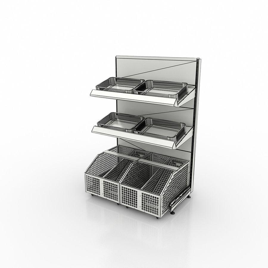 Stojak na owoce lub warzywa (stojak) royalty-free 3d model - Preview no. 6