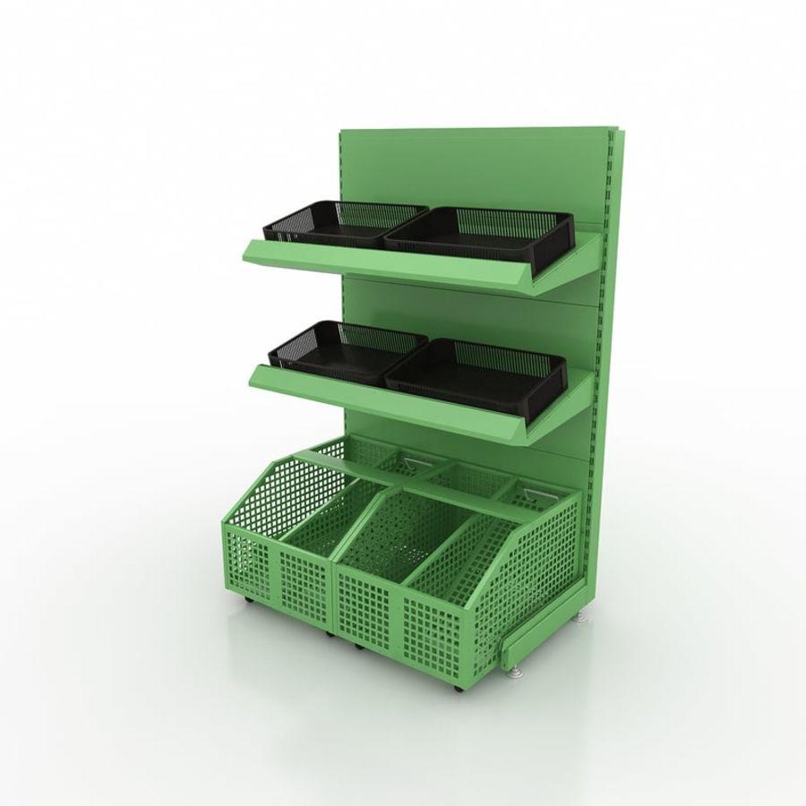 Stojak na owoce lub warzywa (stojak) royalty-free 3d model - Preview no. 1