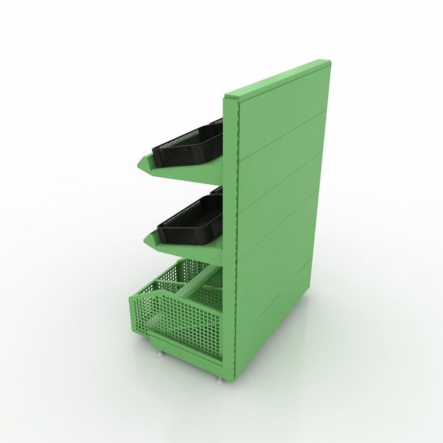 Stojak na owoce lub warzywa (stojak) royalty-free 3d model - Preview no. 4