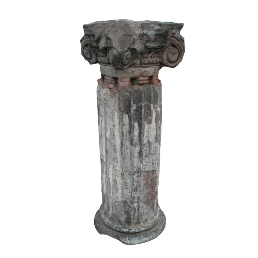 Columna antigua royalty-free modelo 3d - Preview no. 4