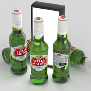 啤酒瓶Stella Artois 330ml 3d model