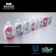 Unilever Surf produkter 3d model