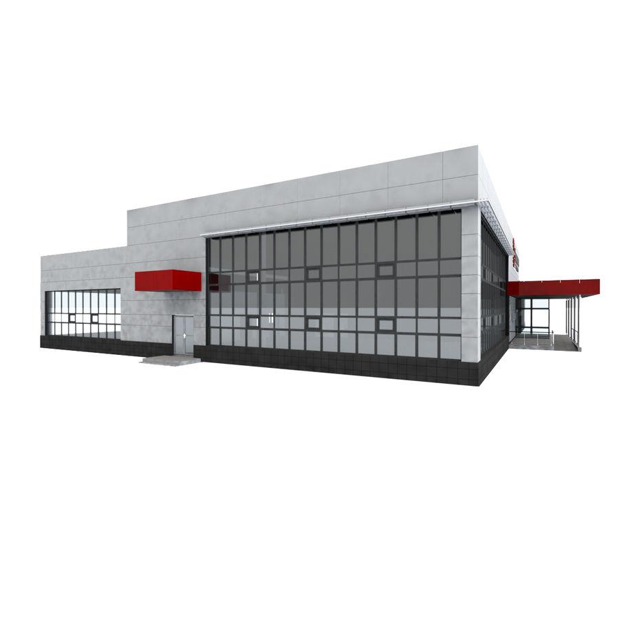Pequeño aeropuerto provincial royalty-free modelo 3d - Preview no. 4