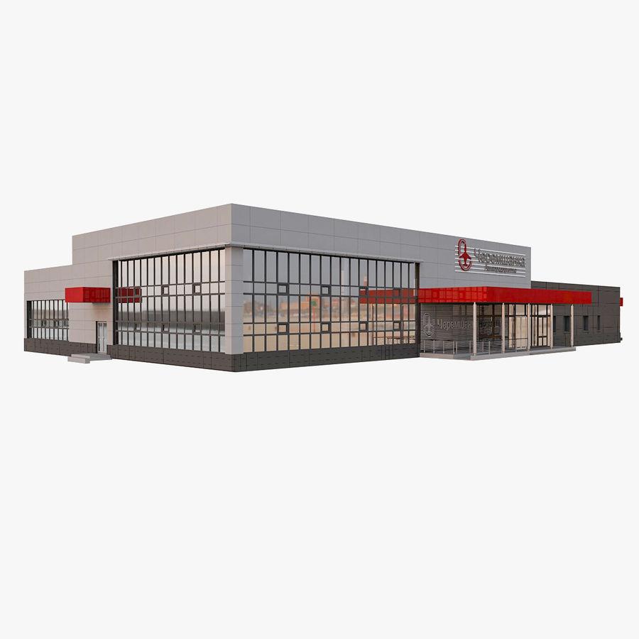 Pequeño aeropuerto provincial royalty-free modelo 3d - Preview no. 1