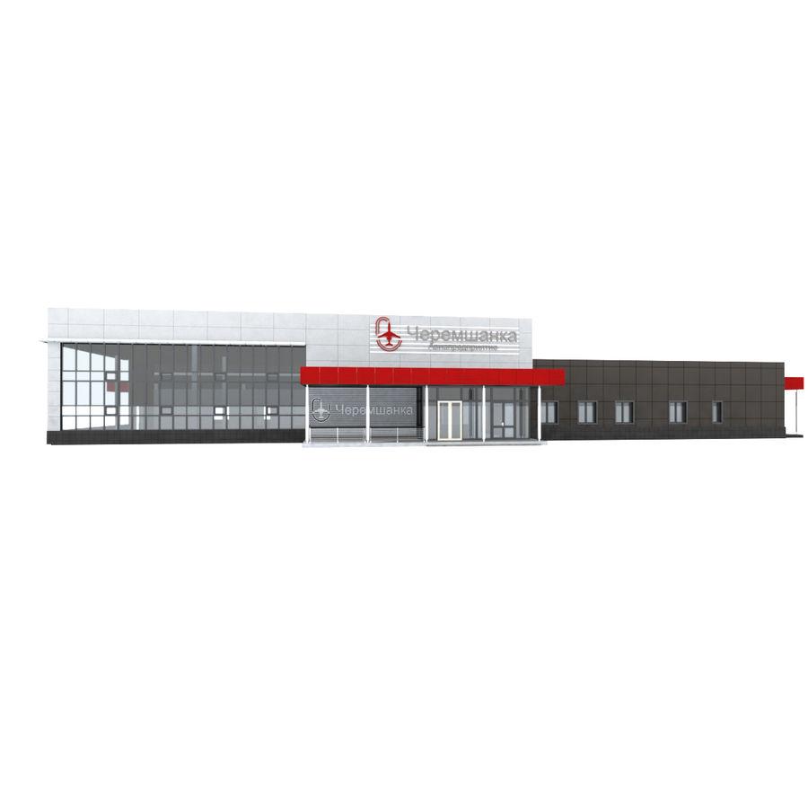 Pequeño aeropuerto provincial royalty-free modelo 3d - Preview no. 3
