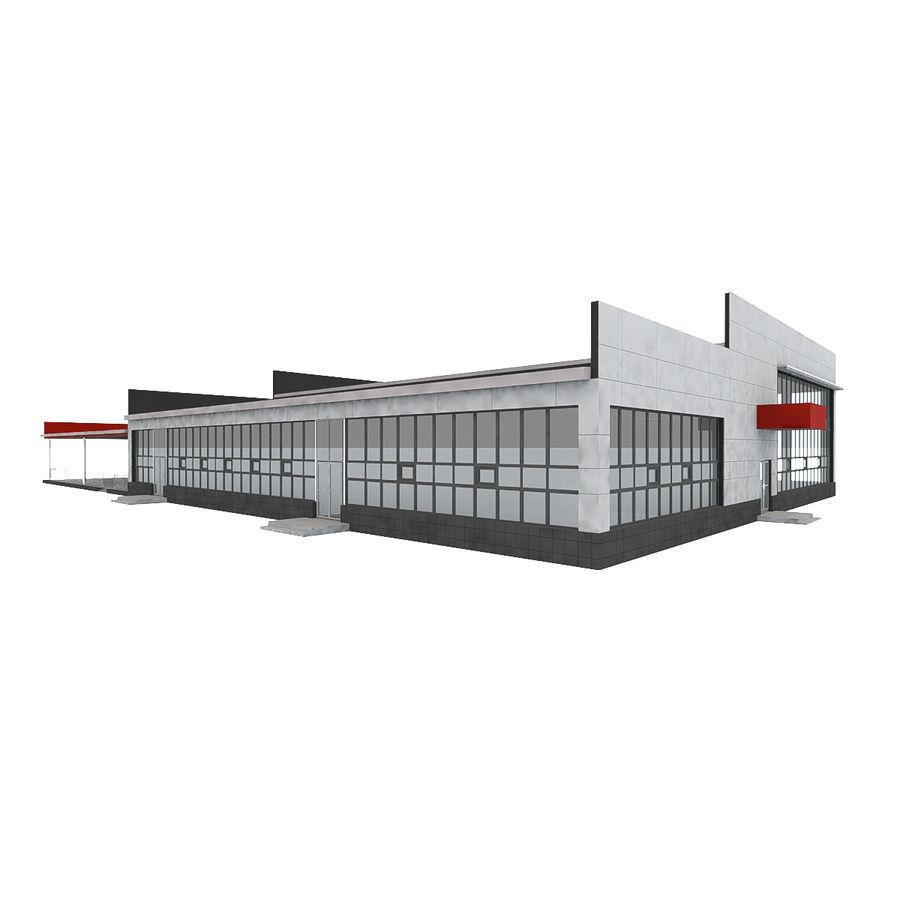 Pequeño aeropuerto provincial royalty-free modelo 3d - Preview no. 7