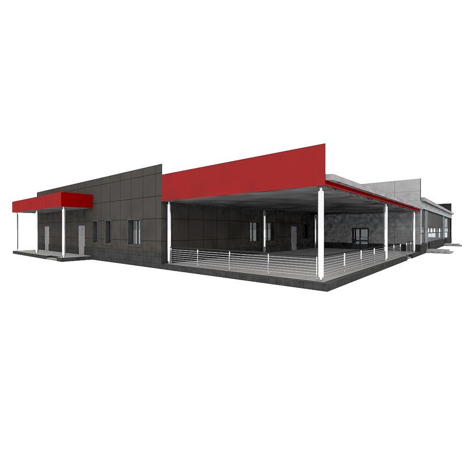 Pequeño aeropuerto provincial royalty-free modelo 3d - Preview no. 6