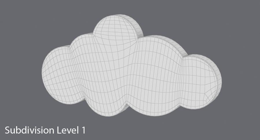Cloud Cloud royalty-free 3d model - Preview no. 15