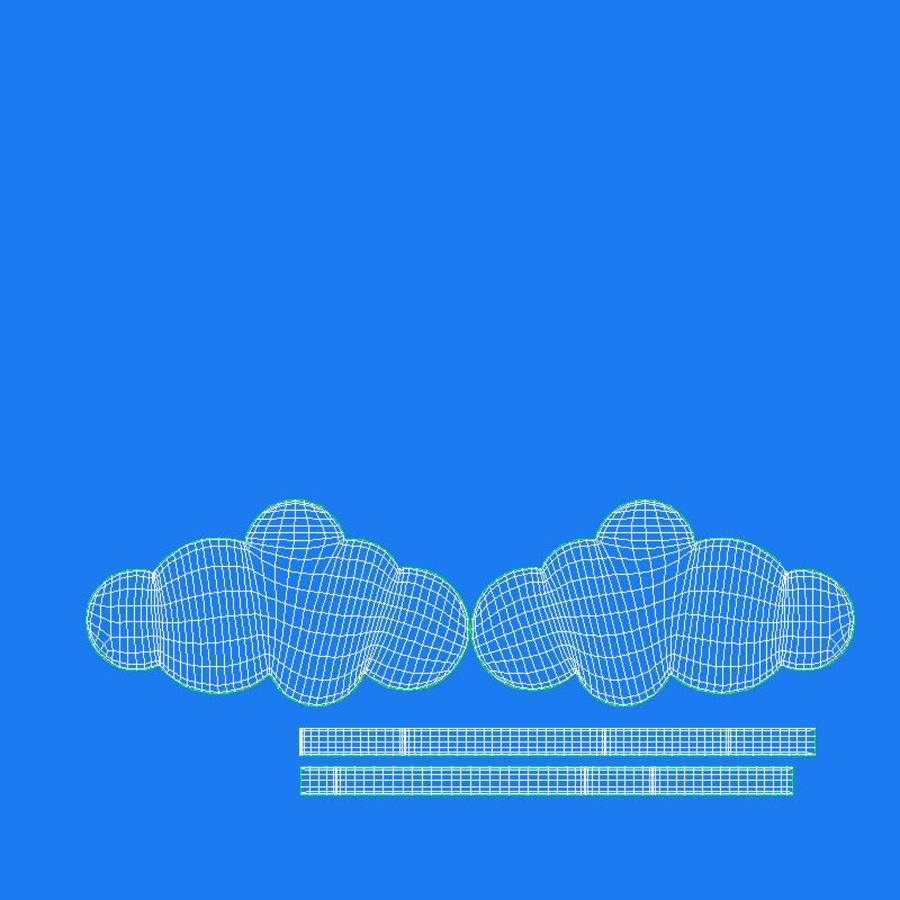 Cloud Cloud royalty-free 3d model - Preview no. 18