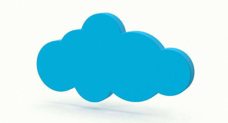 Cloud Cloud royalty-free 3d model - Preview no. 4