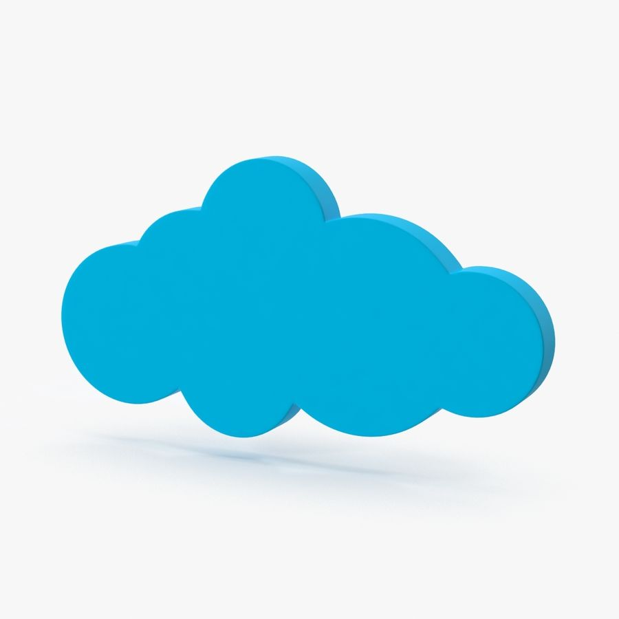 Cloud Cloud royalty-free 3d model - Preview no. 1