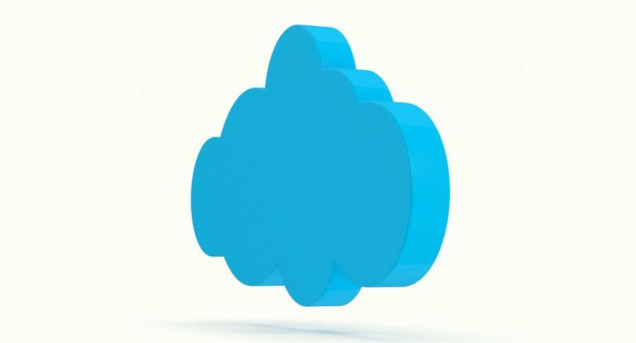 Cloud Cloud royalty-free 3d model - Preview no. 9