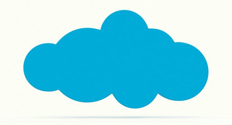 Cloud Cloud royalty-free 3d model - Preview no. 7