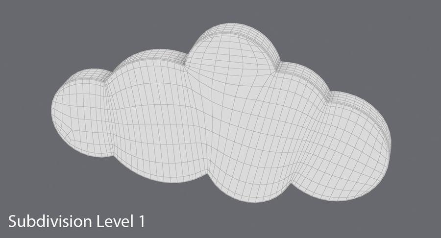 Cloud Cloud royalty-free 3d model - Preview no. 17
