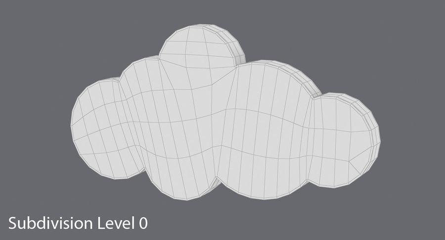 Cloud Cloud royalty-free 3d model - Preview no. 12